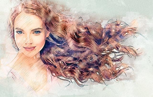 Girl's Sketch