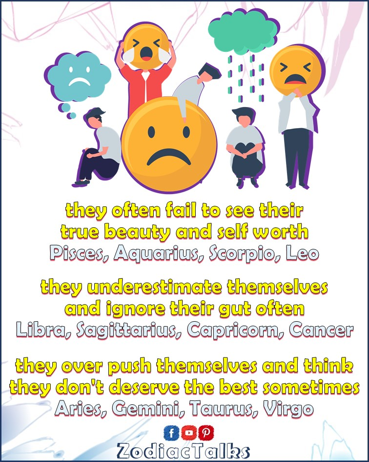 Zodiac Signs behaviors