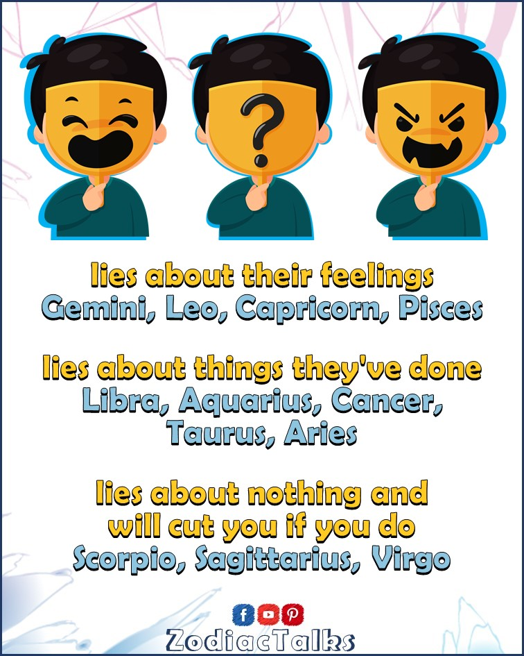 Zodiac Signs - How They Lie