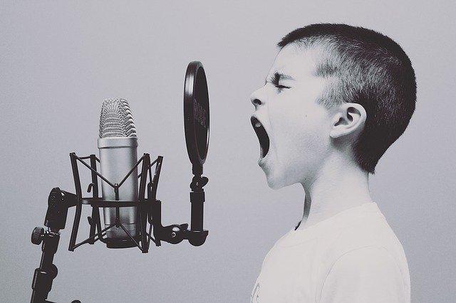 boy mic