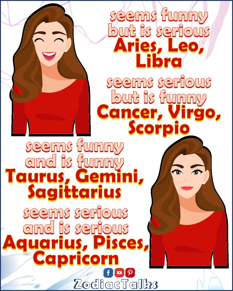 Zodiac Signs - Serious or funny