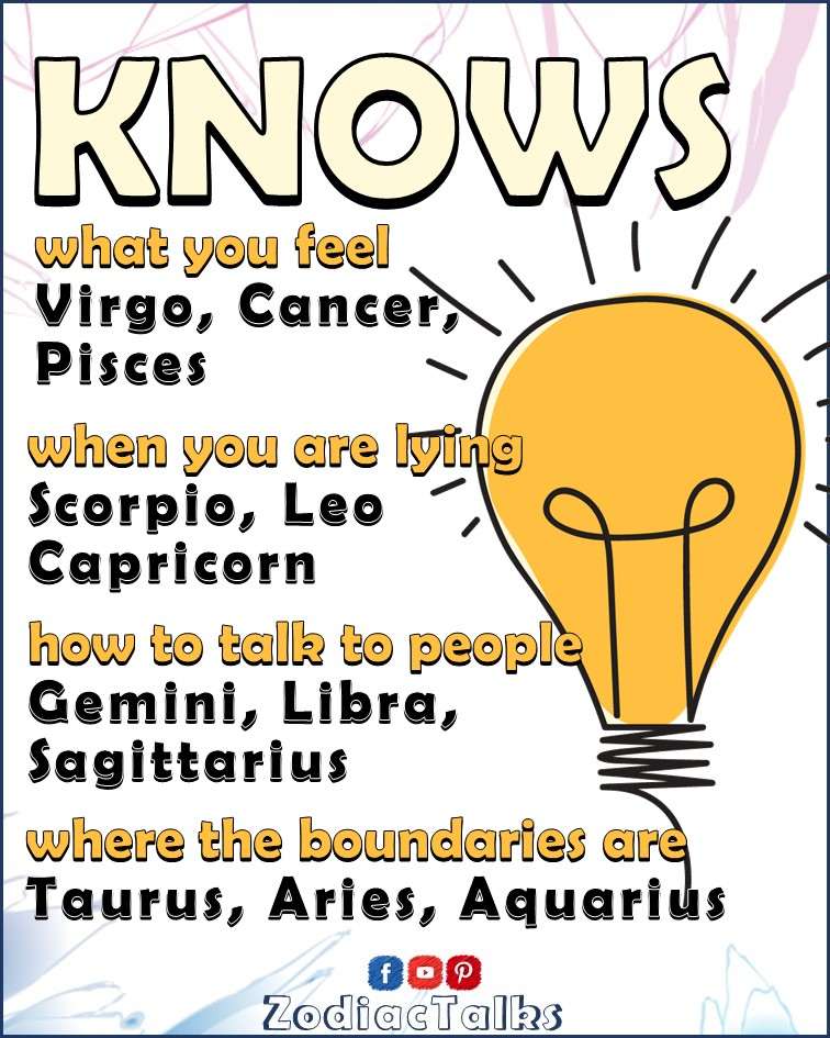Zodiac Signs - What they know