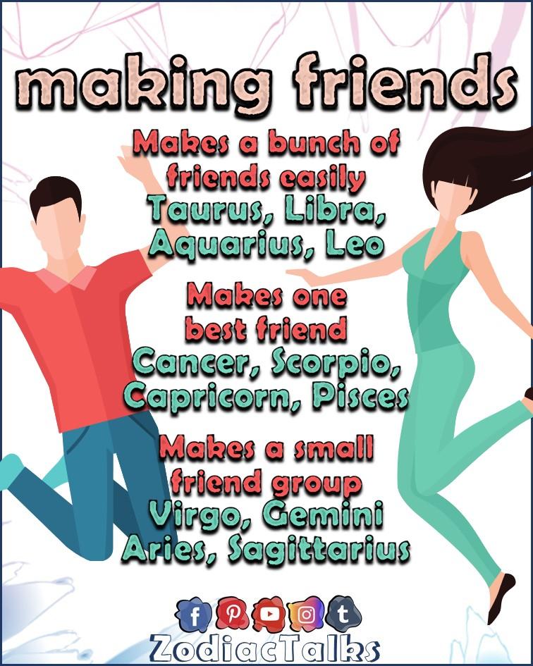 ZODIAC SIGNS - FRIENDS CIRCLE