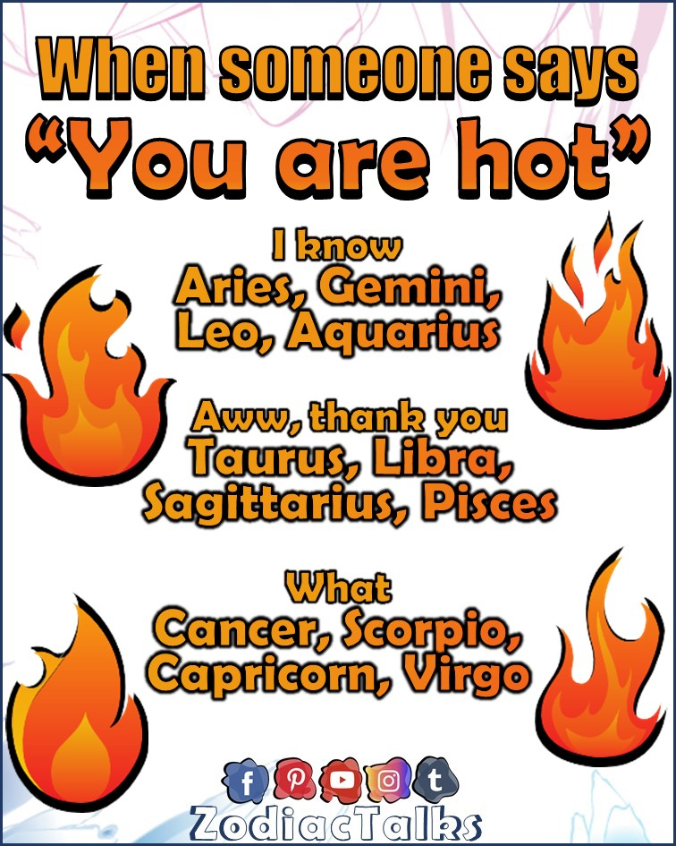 ZODIAC SIGNS - HOW THEY REACT