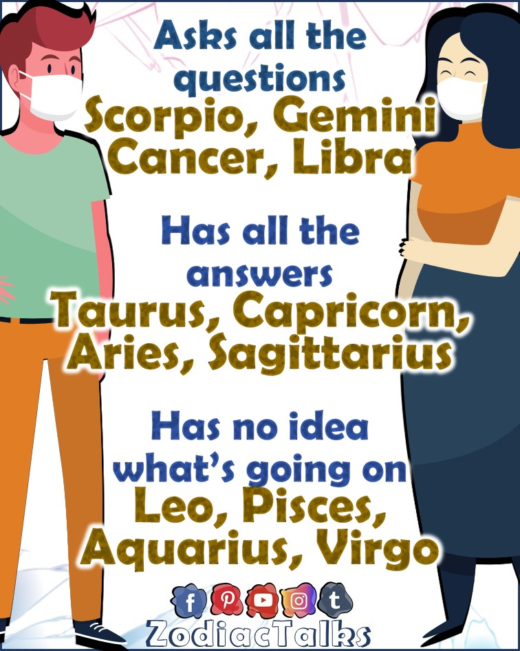 Zodiac Signs and questions