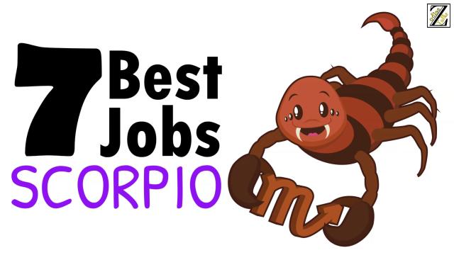 scorpio best jobs