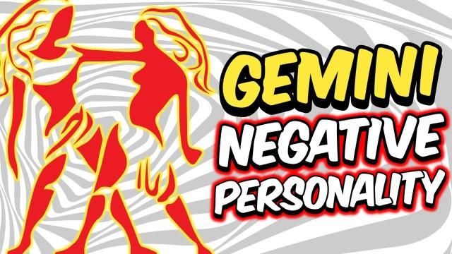 5 NEGATIVE PERSONALITY TRAITS OF GEMINI ZODIAC SIGN EXPLAINED