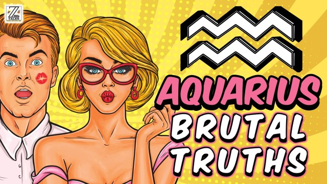 LOVE LIFE WITH AQUARIUS WOMAN & 5 BRUTAL TRUTHS
