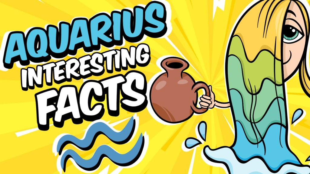 INTERESTING FACTS ABOUT AQUARIUS ZODIAC SIGN