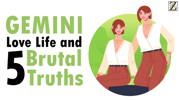 LOVE LIFE WITH GEMINI WOMAN & 5 BRUTAL TRUTHS
