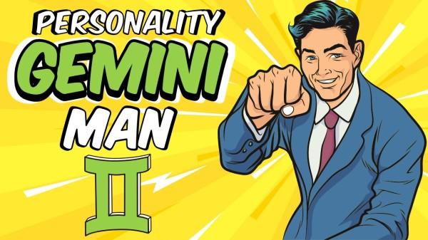 PERSONALITY TRAITS OF GEMINI MAN