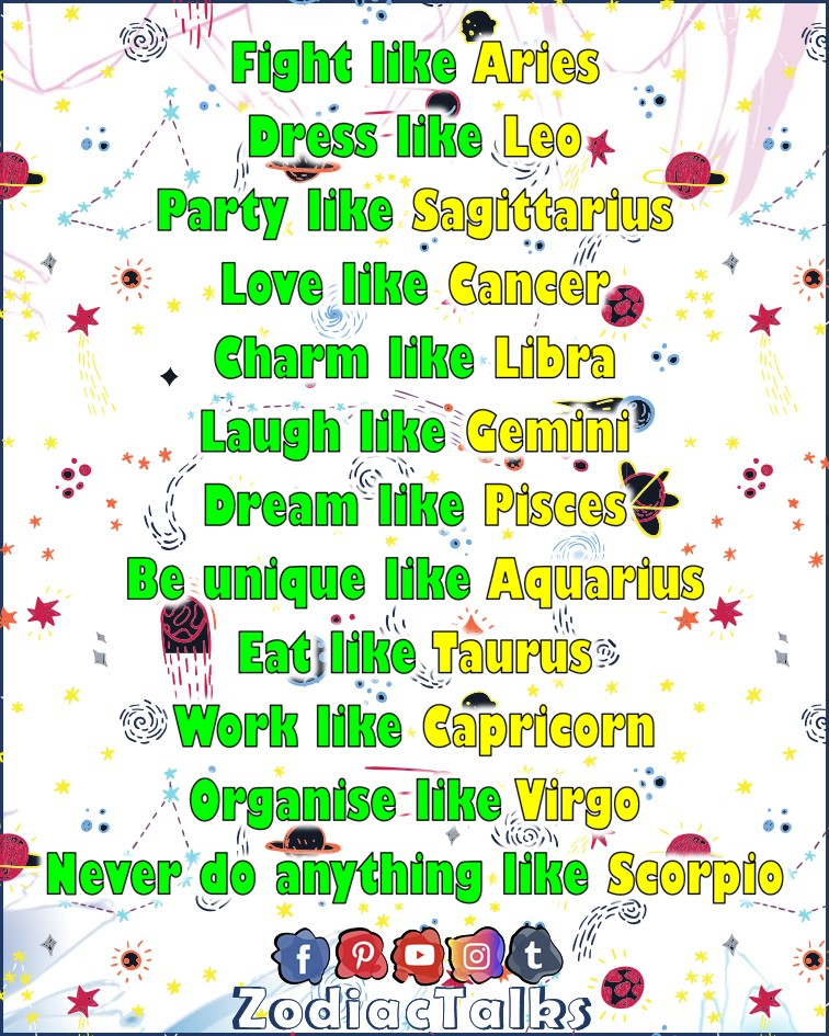 Zodiac Signs and like