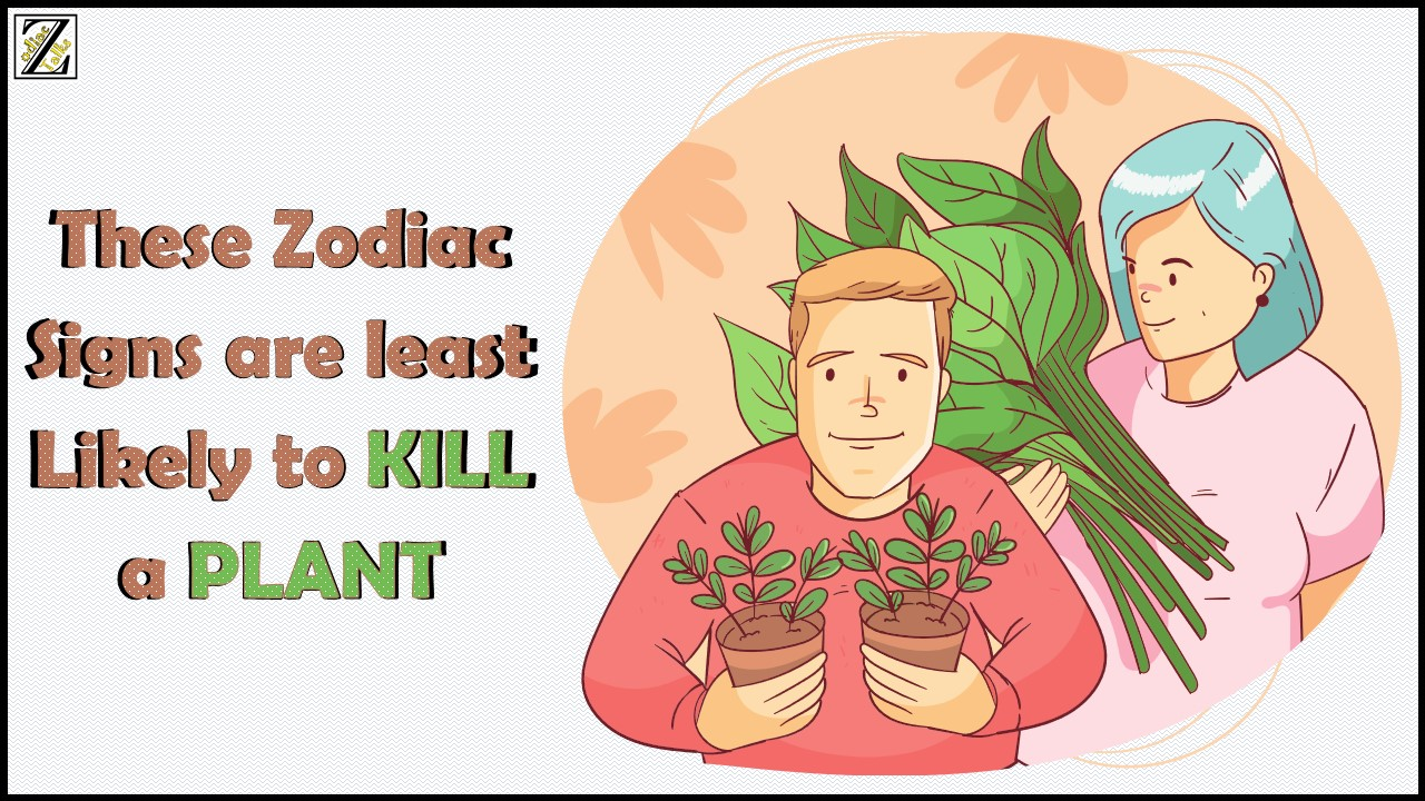 Zodiac Signs least Likely to KILL a PLANT
