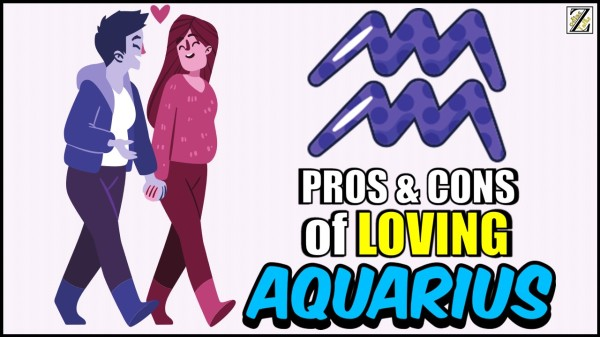 PROS AND CONS OF LOVING AN AQUARIUS